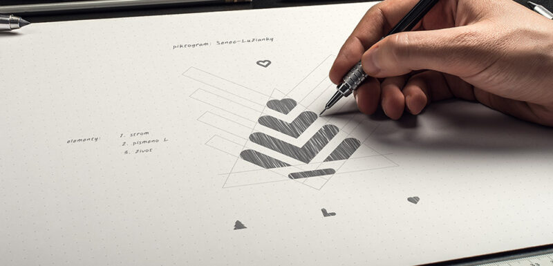 Tvorba, význam vizuálnej identity novej štvrte Senec – Lužianky