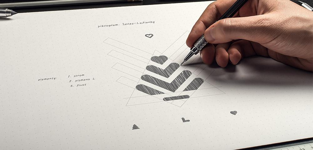 Tvorba, význam vizuálnej identity novej štvrte Senec - Lužianky